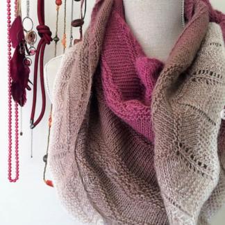 Для вязания шалей и бактусов